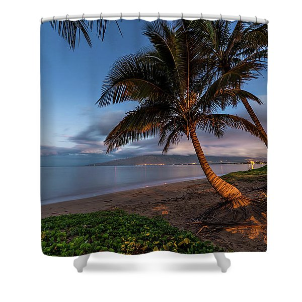 Morning Aloha Shower Curtain