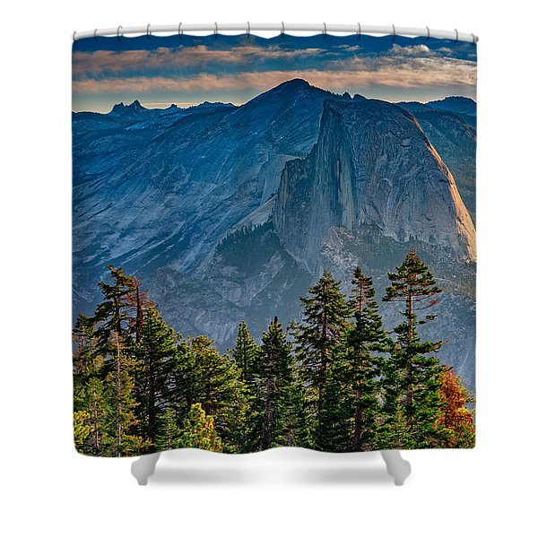 Morning At Half Dome Shower Curtain