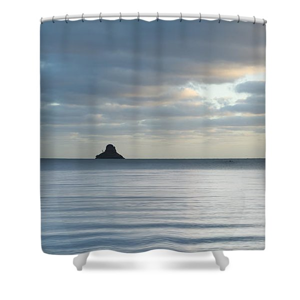 Morning At Mokoli'i Island Shower Curtain