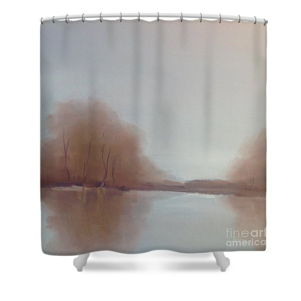 Morning Chill Shower Curtain