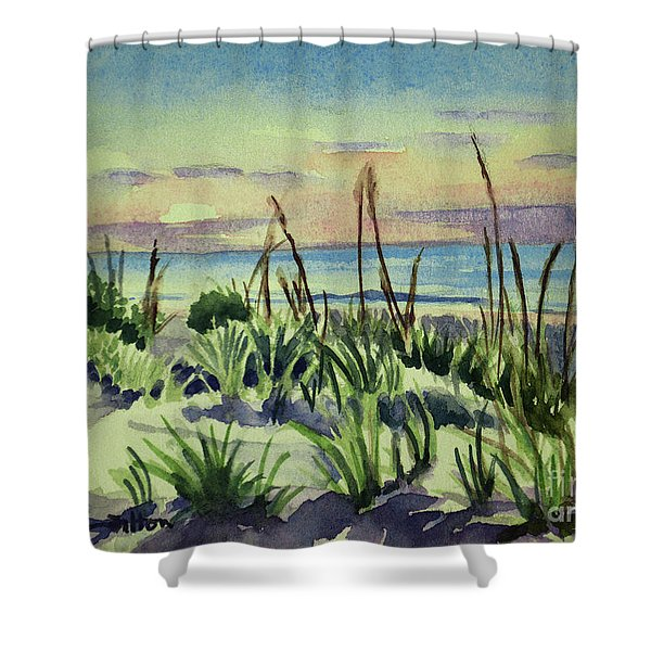 Morning Dunes  7-7-2017 Shower Curtain