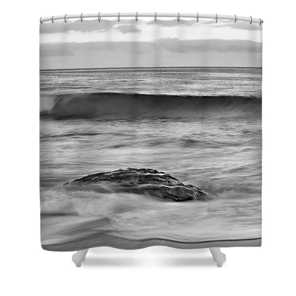 Morning Flow Shower Curtain