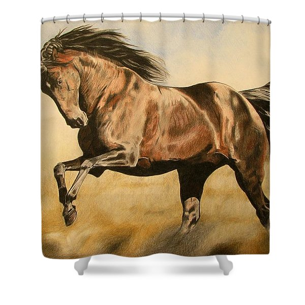 Morning Game Shower Curtain
