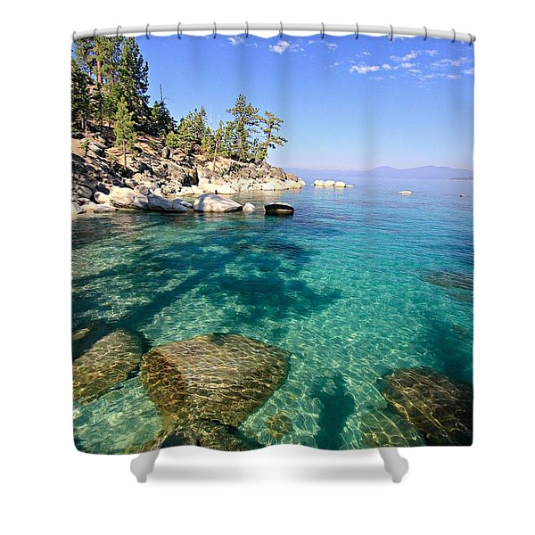 Morning Glory At The Cove Shower Curtain