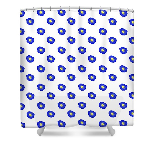 Morning Glory Pattern Shower Curtain