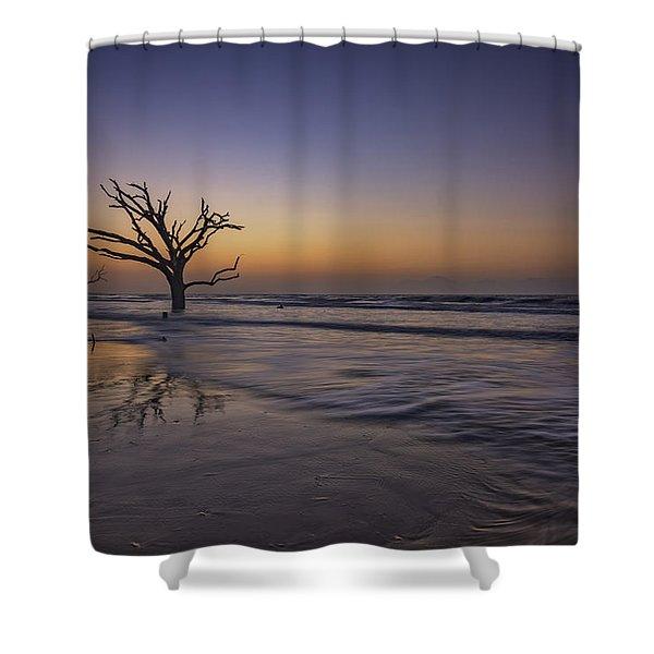 Morning Glow On Edisto Island Shower Curtain
