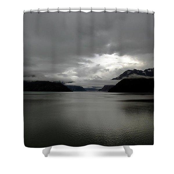 Morning In Alaska Shower Curtain