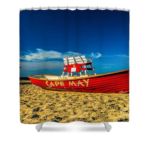 Morning In Cape May Shower Curtain