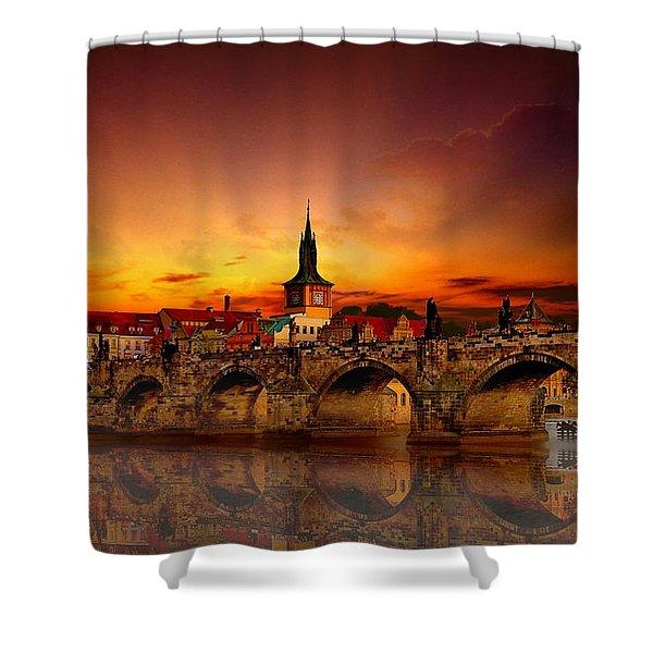 Morning In Prague Shower Curtain