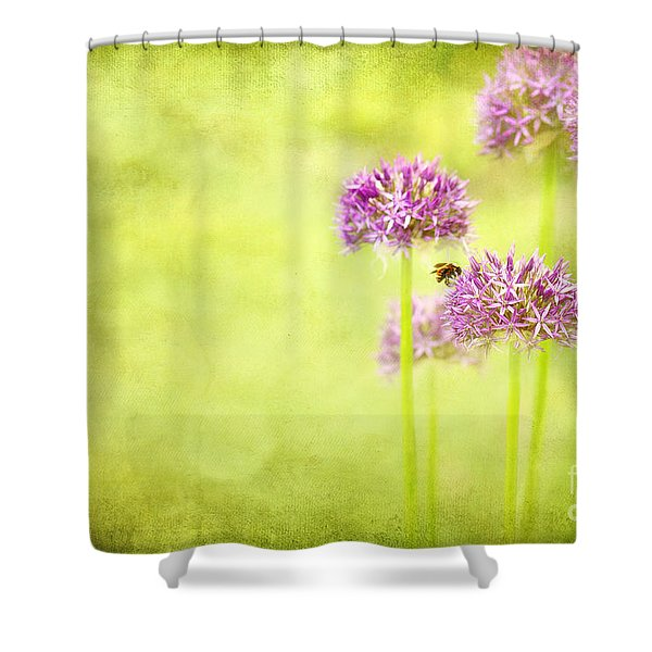 Morning In The Garden Shower Curtain