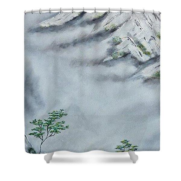 Morning Mist 2 Shower Curtain