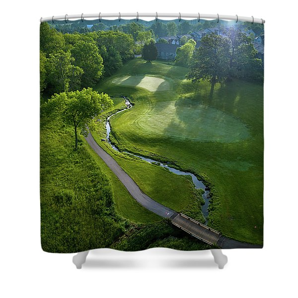 Morning On The 9th Shower Curtain