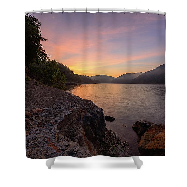 Morning On The Bay Shower Curtain