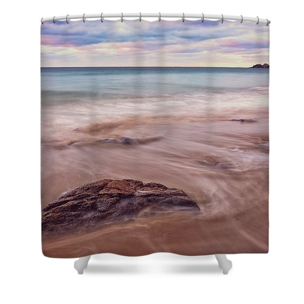 Morning Pastels Singing Beach Ma Shower Curtain