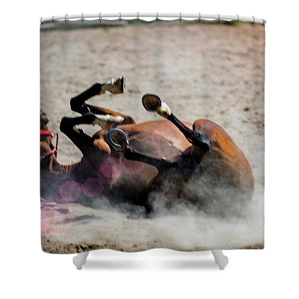 Morning Roll Shower Curtain