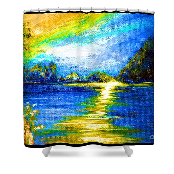 Morning Sunrise 9.6 Shower Curtain
