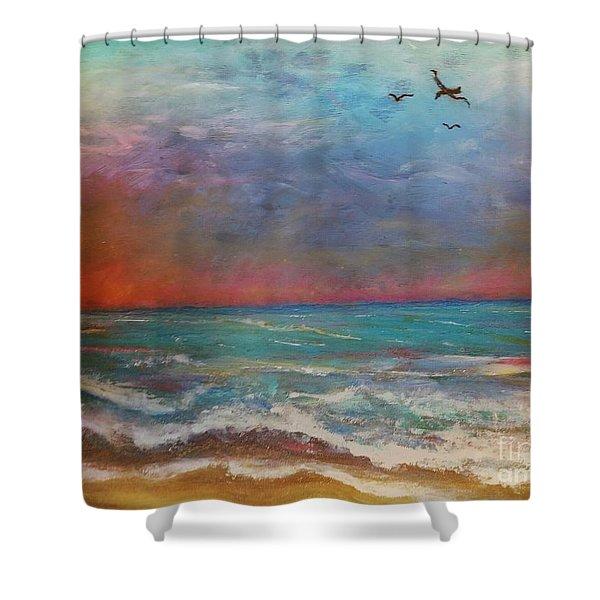 Morning Sunrise Shower Curtain