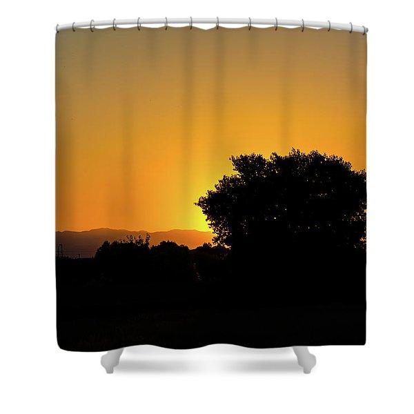 Morning Sunshine Shower Curtain