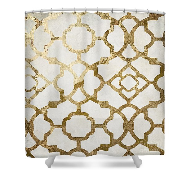 Moroccan Gold I Shower Curtain