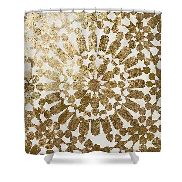 Moroccan Gold II Shower Curtain