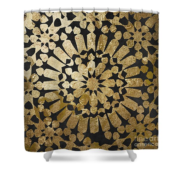 Moroccan Gold Iv Shower Curtain