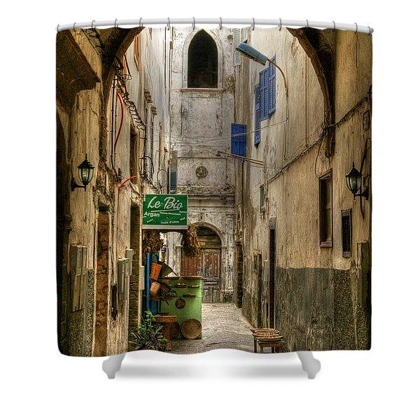 Moroccan Medina Shower Curtain