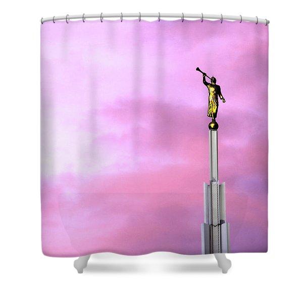 Moroni At Dawn Shower Curtain