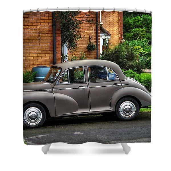 Morris Minor Shower Curtain