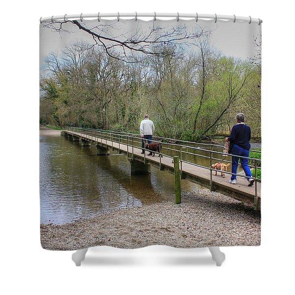 Morton Bridge Shower Curtain