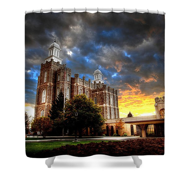Moses Light Shower Curtain