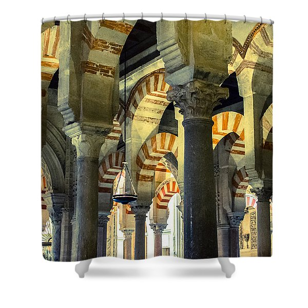 Mosque Cathedral Of Cordoba 2 Shower Curtain