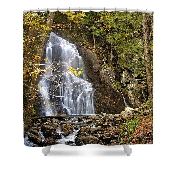 Moss Glen Falls Shower Curtain