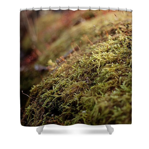 Mossy Shower Curtain