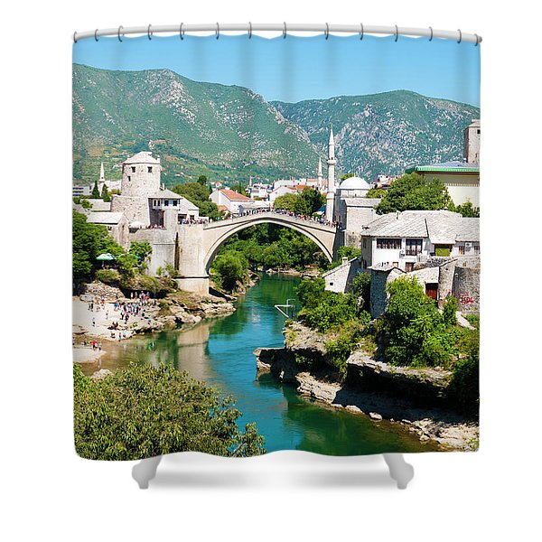 Mostar Shower Curtain