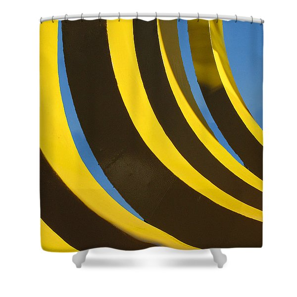 Mostly Parabolic Shower Curtain