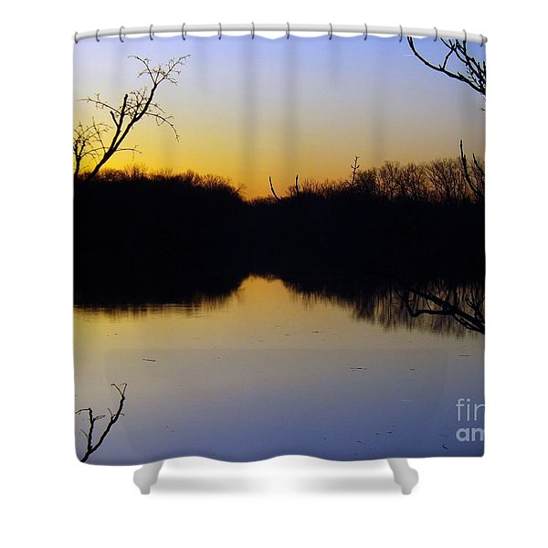 Mother Natures Glow Shower Curtain