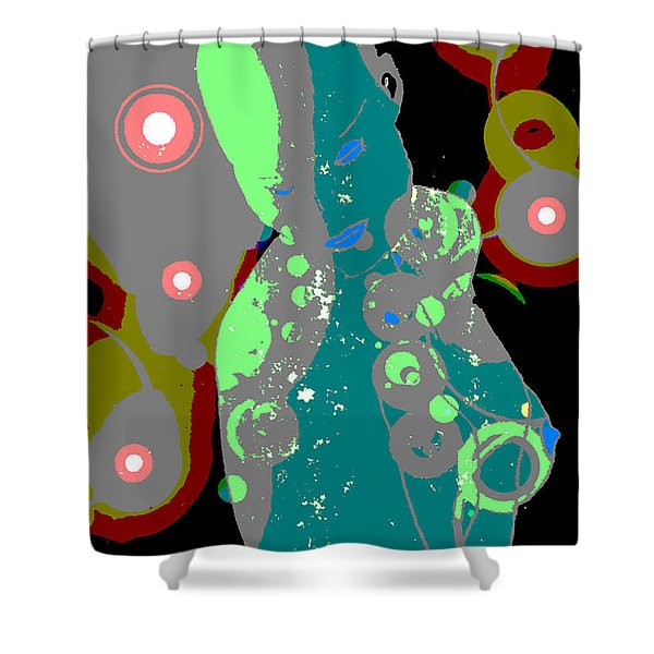 Mother Of Space Shower Curtain