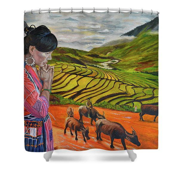 Mother's Land Shower Curtain