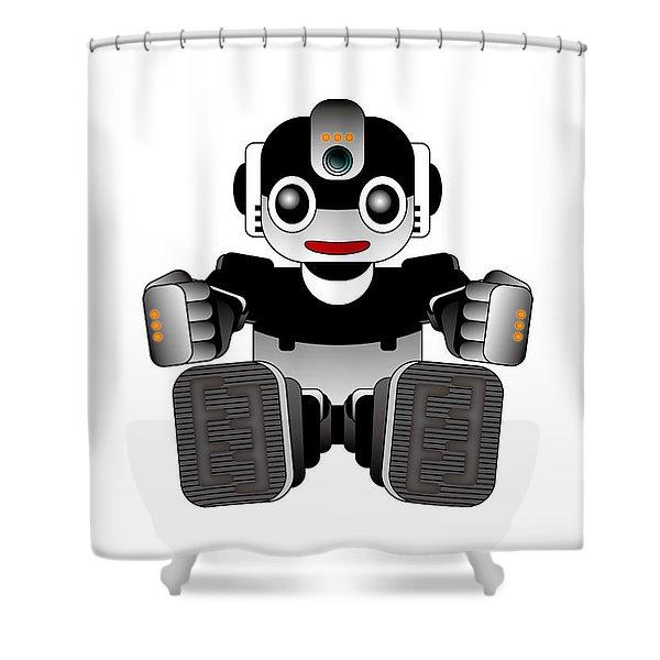 Moto-hal Shower Curtain