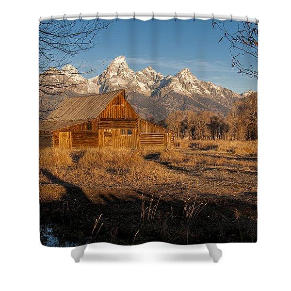 Moulton Barn Shower Curtain