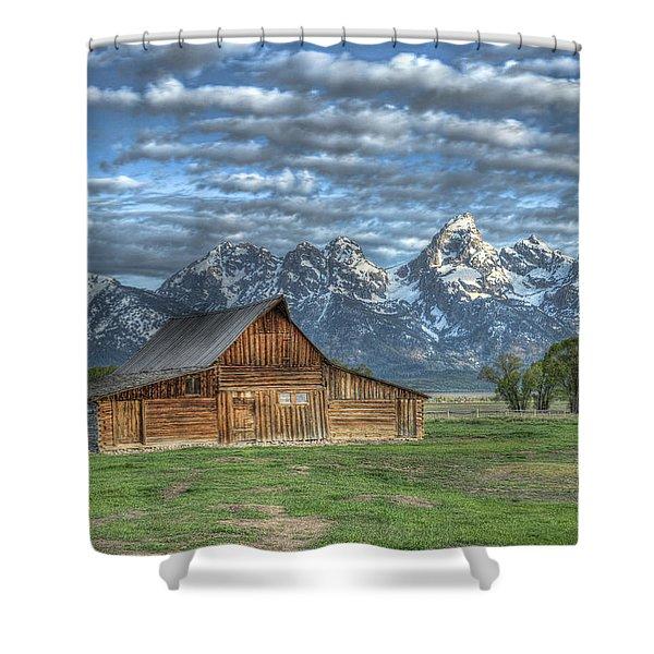 Moulton Morning Shower Curtain