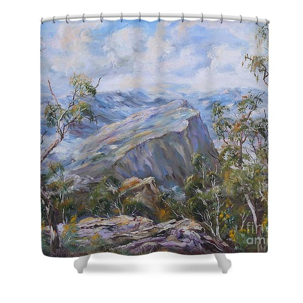 Mount Abrupt Grampians Victoria Shower Curtain
