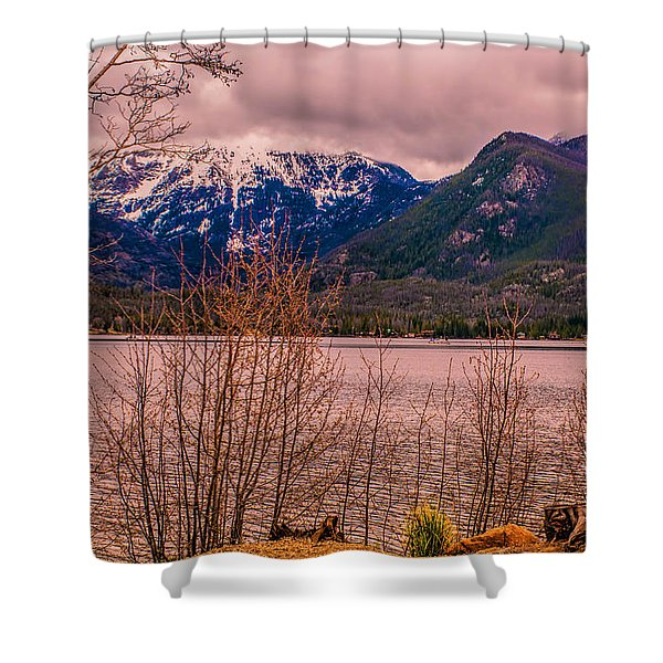 Mount Baldy From Point Park Shower Curtain