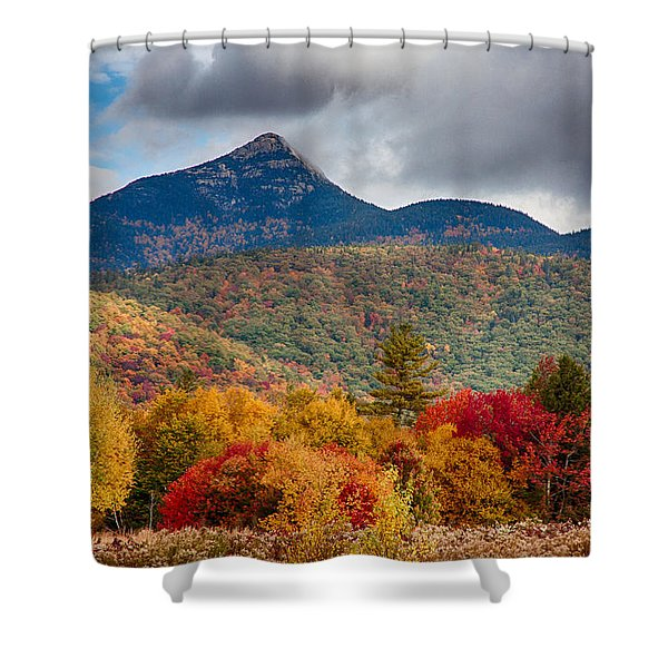 Peak Fall Colors On Mount Chocorua Shower Curtain