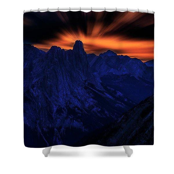 Mount Doom Shower Curtain