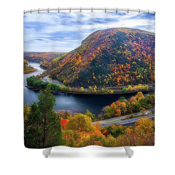 Mount Minsi Shower Curtain