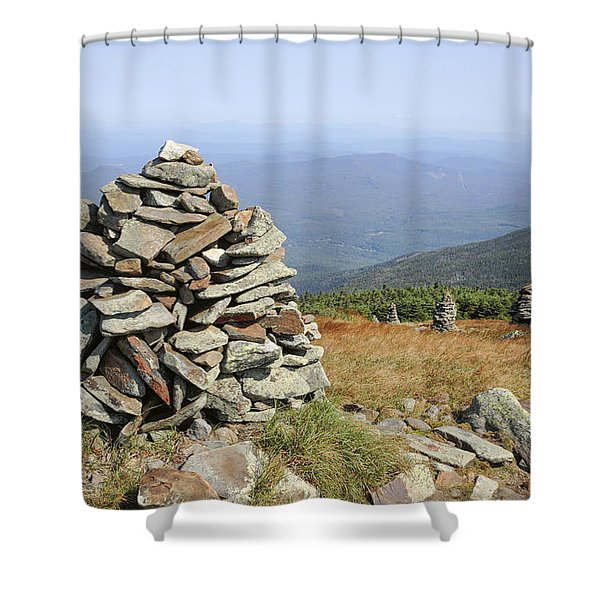 Shower Curtain featuring the photograph Mount Moosilauke - White Mountains New Hampshire by Erin Paul Donovan