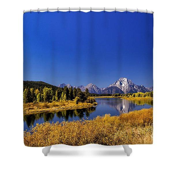 Mount Moran Shower Curtain