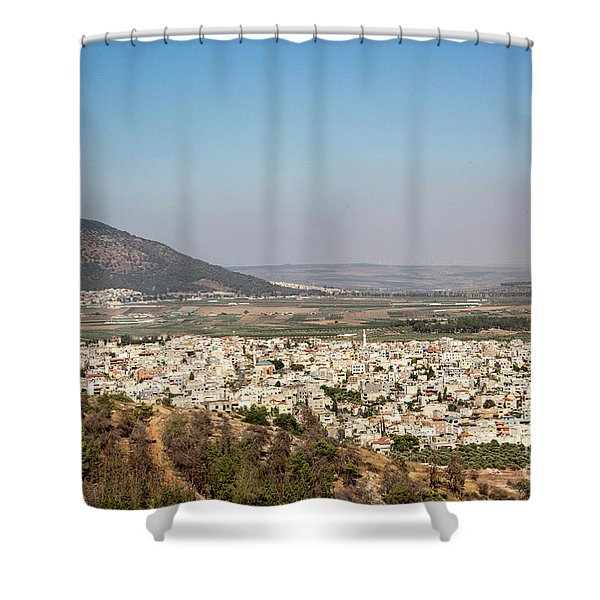 Shower Curtain featuring the photograph Mount Of Ascension by Mae Wertz