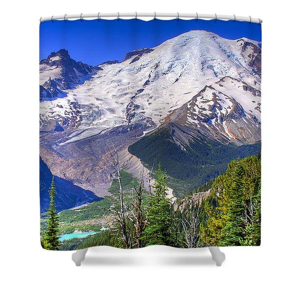 Mount Rainier IIi Shower Curtain